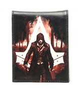Assassins Creed Syndicate Character Print PU Bifold Wallet - $19.16