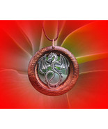 RED DRAGON SPIRIT ENTITY TALISMAN AMULET VOODOO BLACK MAGICK POWERS - $150.00