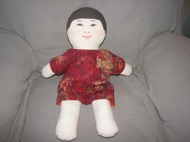 ENVIRONMENTS INC EARTHCHILD EARTH CHILD WIND CLOTH DOLL 1999 MONTESSORI ... - $48.50