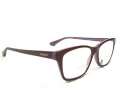 Vogue Glasses Eyeglass Frame Clear Purple Square Cat Eye VO2714 2015 140 - $46.46
