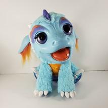 Fur Real Friends Torch My Blazin' Baby Dragon Dinosaur Animated Pet Ligh... - $33.87