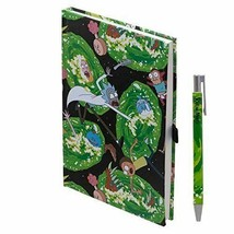Rick and Morty Office Supplies Stationary Set Pen & Journal Set Gift NWT - $13.80