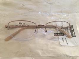 Kirkland Signature 868304 Light Peach CORALVILLE Eyeglass Frames 1111 ITALY  - $59.95