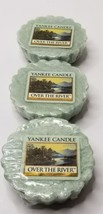Yankee Candle OVER THE RIVER WAX MELT TARTS Lot of 3 NOS - €7,93 EUR