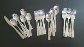 Cambridge Stainless Steel Flatware Conquest 27 Piece Mixed Lot - $49.49