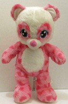 "BUILD A BEAR PINK HEARTS SWEET SCENT PANDA 16"" PLUSH STUFFED DOLL TOY - $8.99"