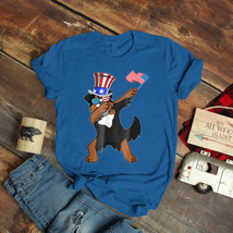 Bernese Mountain Dog Dabbing Dog Dad 4Th Of July T-Shirt Birthday Funny ... - $15.99+