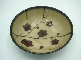 "Pfaltzgraff ASTER 7 7/8"" Round Serving Vegetable Bowl Red Flowers Beige ... - $17.47"