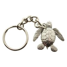 Sea Turtle Keychain ~ Antiqued Pewter ~ Keychain - $9.99
