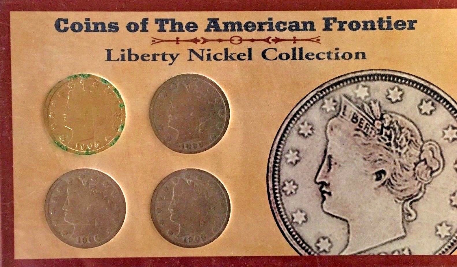 Primary image for  LIBERTY HEAD NICKEL Coins of the American Frontier 1883-1912