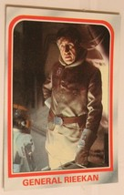 Empire Strikes Back Trading Card #18 General Rieeken - $1.97