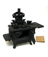 Old Mountain Cast Iron Mini Replica Wood Cook Stove with Accessories - $54.44
