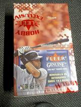 2002 Fleer Genuine Baseball Hobby Mini Box Factory Sealed 8 Packs + Memo... - $34.99