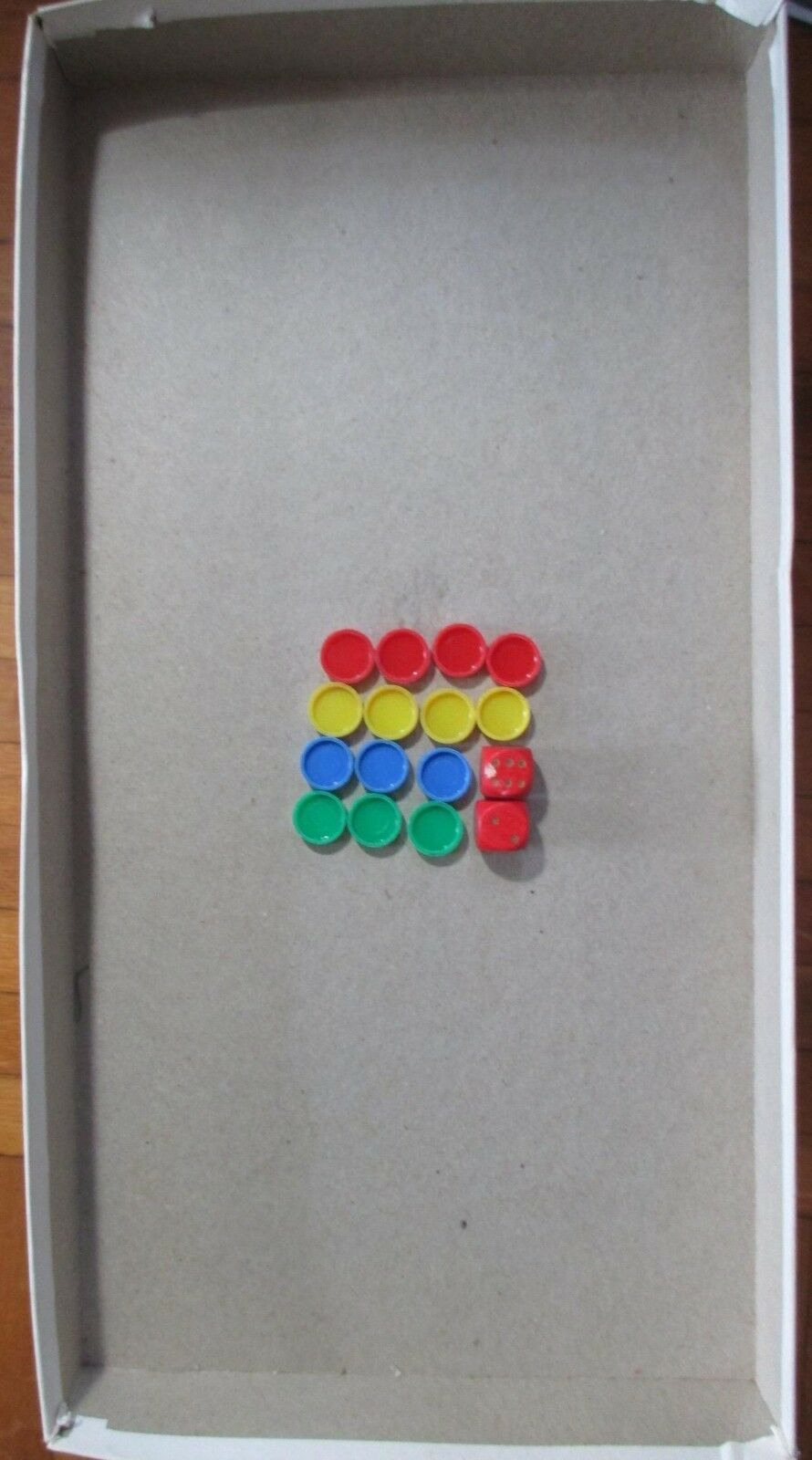 One Vintage Whitman Pachisi Game, incomplete + Two Selchow & Righter Boards image 9