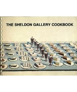 Region Cookbook Nebraska NE Lincoln Sheldon Art Gallery 1978 Artist Recipes - $15.71