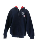 NFL Team Color Poly Knit Sherpa Lining Zip Up Hoodie Texans L NEW A280698 - $35.62