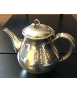 "Reed and Barton Americana Silver plate #7035 Pitcher Coffee Pot 7.5"" - $39.60"
