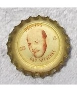 Vintage Green Bay Packers Football Ray Nitschke Coke Bottle Cap C20 - $9.95