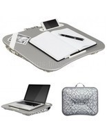 Student Lapdesk for Girls Table Portable Stand Tray Bed Pillow Pad Phone... - $43.95