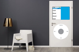 Dry Erase Dorm Room Door MP3 Player Decals Retro Man Cave Music Stickers iPod - $24.70
