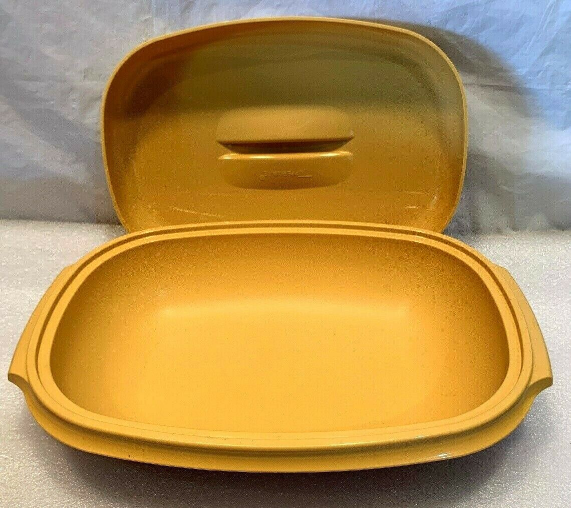 Primary image for VINTAGE TUPPERWARE #1273 REPLACEMENT MICROWAVE VEGGIE STEAMER BASE & LID ONLY