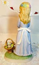 Vintage Napcoware Country Cousins Friendship Song Figurine Girl w/ Flower Basket image 6