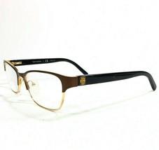 Tory Burch TY1040 3032 Eyeglasses Frames Brown Gold Cat Eye Full Rim 53-... - $37.39