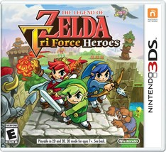 The Legend of Zelda: TriForce Heroes - 3DS [video game] - $14.99