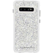 Case-Mate Twinkle Samsung Galaxy S10 case Clear Iridescent Sparkle Effect NEW
