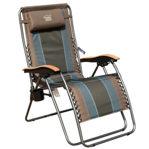 Timber Ridge Zero Gravity Locking Patio Outdoor Lounger Chair Oversize X... - $124.33