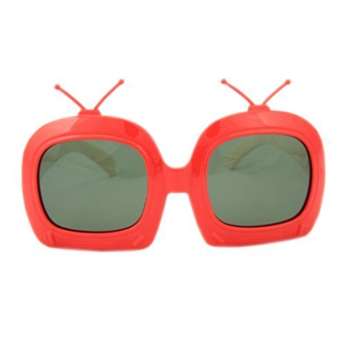 Toddler Sunglasses Kids Sun Protection Children Summer Eyewear RED FRAME