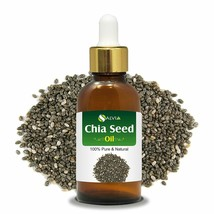 Salvia Natural Undiluted Uncut Essential Chia Seed Oil with Dropper, 5-1... - $11.38+