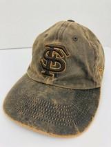 Florida State Seminoles FSU Noles Cap Adjustable Cloth Strap Hat Embroidered  - $24.74
