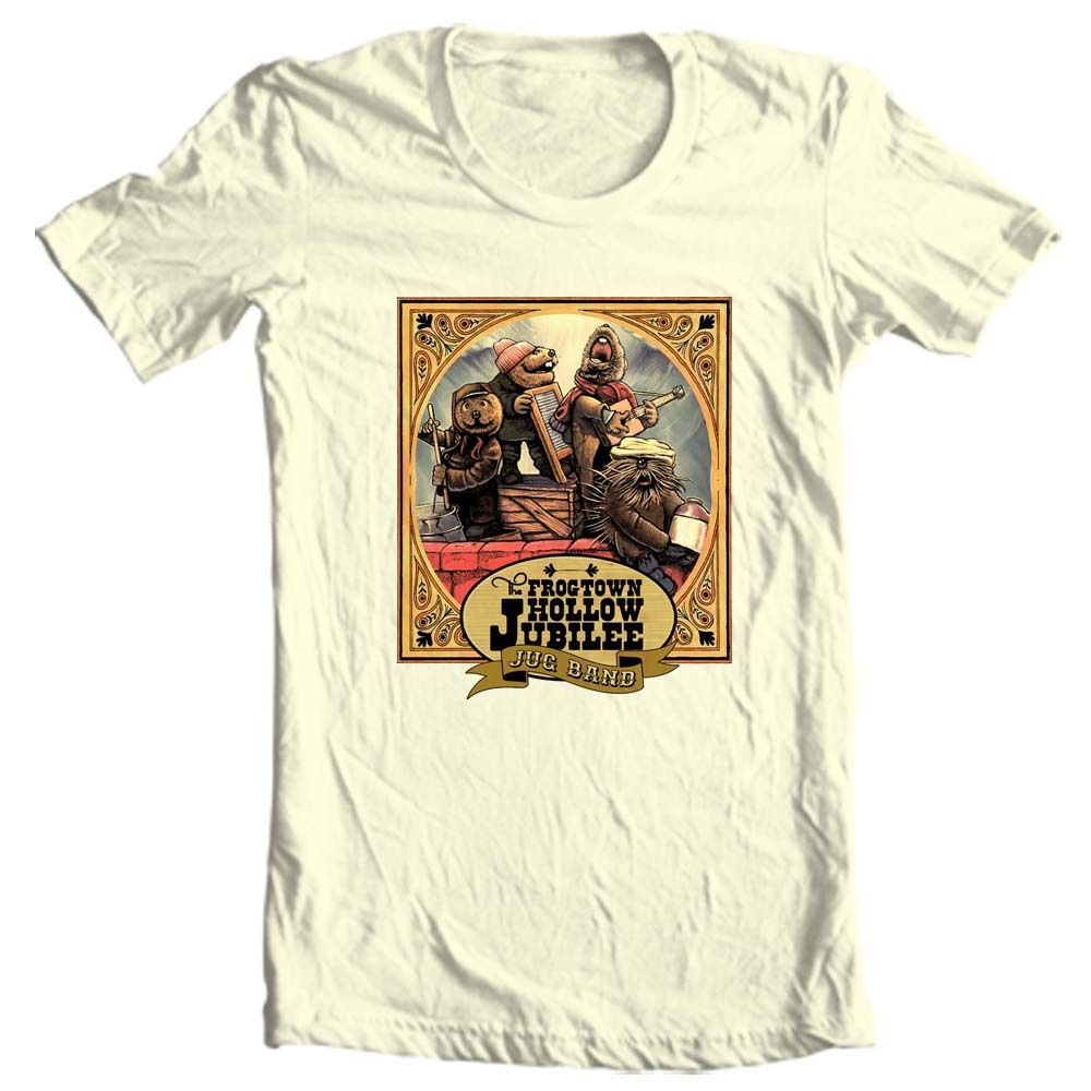 hollow jubilee jug band retro vintage 70 s muppets jim henson for sale online graphic tee store
