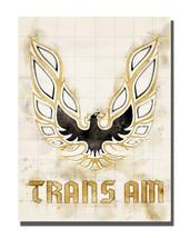 1978 Pontiac Firebird Trans Am Hood Eagle Chicken Design 16x20 Aluminum Wall Art - $59.35