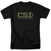 CSI t-shirt TV crime drama collage logo 100% cotton graphic tee CBS946 image 1