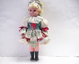Czech Slovak Plastic Doll-Traditional Kroj Dress/Czechoslovakia Tatry Ta... - $49.49