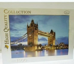 Clementoni Puzzle 1000 Pieces Tower Bridge, Made In Italy, Sealed, New - $32.90