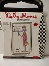 "Senior Moment Cross Stitch Kit Dolly Mamas Janlynn 6"" x 10"" Opened - $9.74"