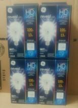 (4) GE Reveal LED HD+ Light A21 Bulbs 13 Watt 100 Watt Replacement Dimmable - $49.45