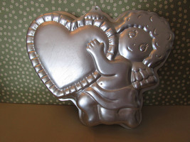 Vintage Wilton Valentine's Day Cupid's Delight Cake Pan 1982 - $12.00