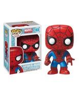 Funko Pop Spiderman Bobble Head Red - $22.98