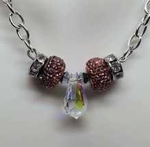 Swarovski Crystal Pendant Center Necklace - $15.00