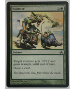 Wildsize, Magic The Gathering MTG Card Guildpact Set LP Light Play - $1.91