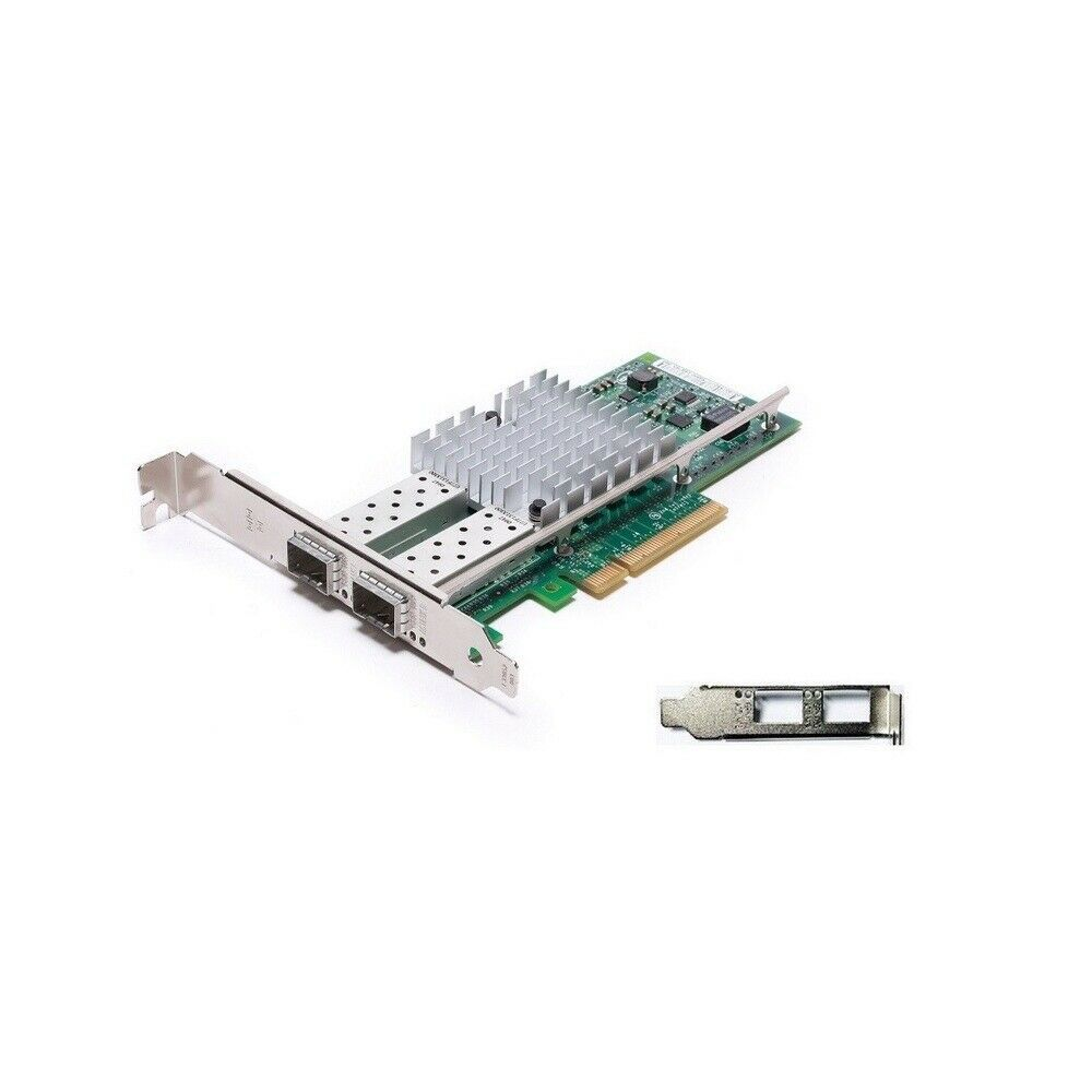 Refurb IBM Intel X520-DA2 10Gigabit 10GBase-X Dual Port PCI Express Ethernet Car - $130.49