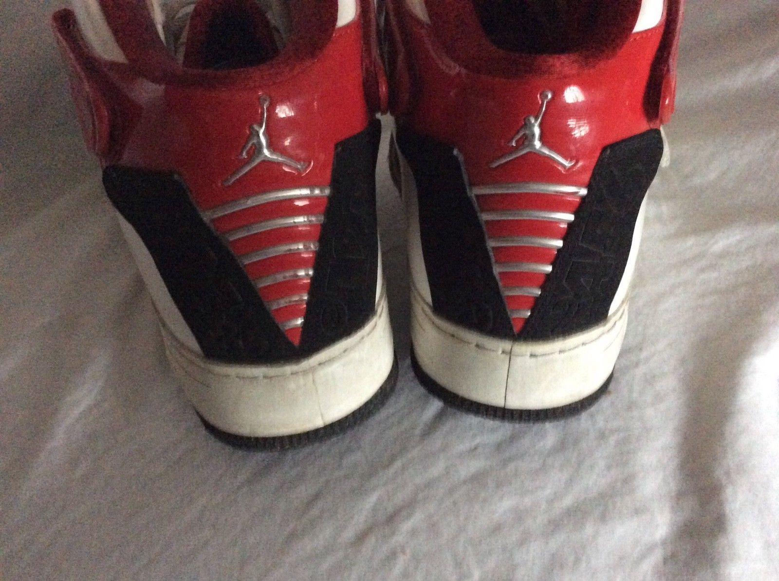 the best attitude 59696 1b07f ... Nike Air Jordan Fusion AJF 20 White Red Black Shoes Sneakers 331823 101  U.S 13 ...