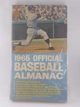BASEBALL - BASEBALL 1965 OFFICIAL BASEBALL ALMANAC - $13.09