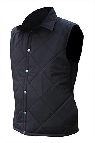 Primary image for Mens Yellowstone John Dutton Kevin Costner Quilted Black Vest
