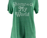 "Grayson/Threads Green ""Shamrock My World"" St. Patricks Day T-Shirt Size Medium"