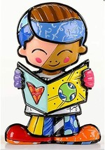 Romero Britto Mini School Boy Figurine  #331850
